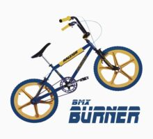 Retro BMX Burner T-shirt One Piece - Short Sleeve
