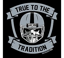 True to the Tradition Photographic Print