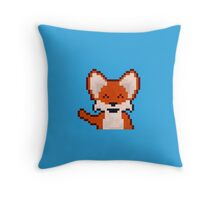 Renard Pixel Throw Pillow