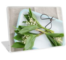 Lilies of the valley Laptop Skin