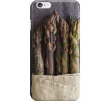 Purple asparagus iPhone Case/Skin