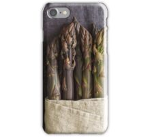 Purple asparagus iPhone Case/Skin