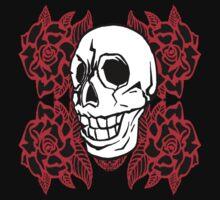 RedRose Skull by Obreja Iulian Andrei