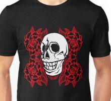 RedRose Skull Unisex T-Shirt