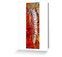 The Headdress is But Part of the Story Greeting Card