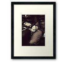 Hold Tight | Love Framed Print