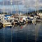 Boats in Dingle Harbour, Co. Kerry, Ireland... by eithnemythen