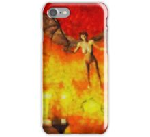 Winged Beast by Sarah Kirk iPhone Case/Skin