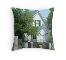Old Cemetary Throw Pillow