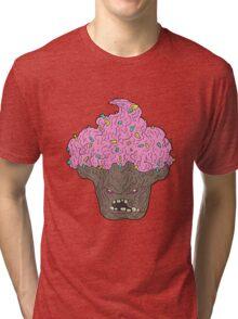 nomcake zombie... Tri-blend T-Shirt