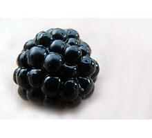 Juicy Blackberry Photographic Print