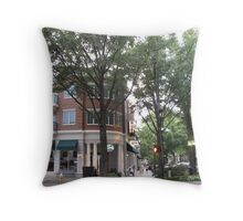 Main Street at Washington Throw Pillow