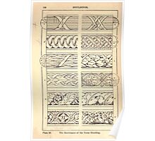 A Handbook Of Ornament With Three Hundred Plates Franz Sales Meyer 1896 0172 Mouldings Enrichment Torus Moulding Poster