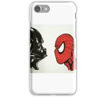 Spiderman vs. Darth Vader 2 iPhone Case/Skin