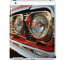 1963 Chevy Impala headlight iPad Case/Skin