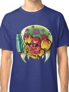 Samus Aran Bounty Hunter (Varia) Classic T-Shirt