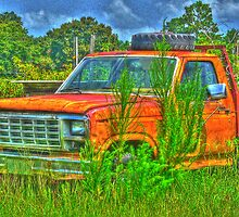 Old Chevy Truck (Faux HDR) 2 by WTBird
