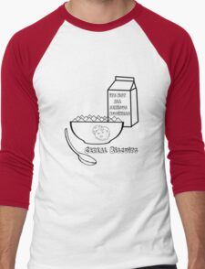 Cereal Biscuits Men's Baseball ¾ T-Shirt