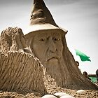 Sand Castle Wizard by Alan Hyland