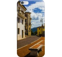 Somewhere in the Old Town iPhone Case/Skin