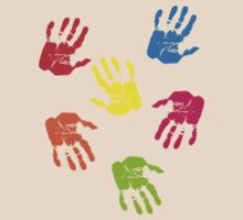 Colourful Hands by Obreja Iulian Andrei