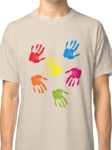 Colourful Hands Classic T-Shirt