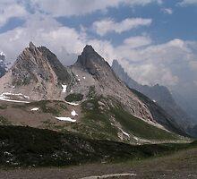 Tour du Mont Blanc - Pyramides Calcaires by Kat Simmons