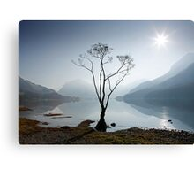 Morning Mist on Buttermere Canvas Print