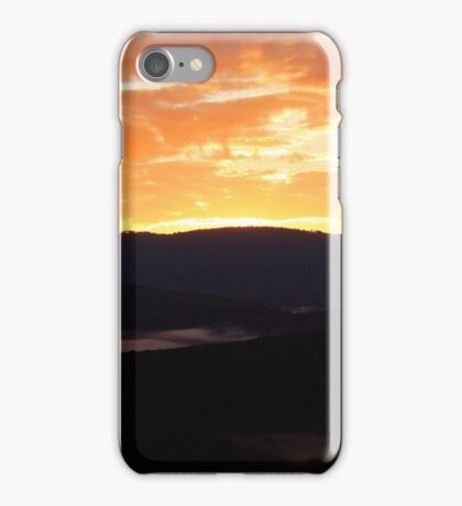 Rain forest Sunrise iPhone Case/Skin