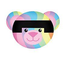 Rainbow Bondage Bear #1 by YOSHFRIDAY