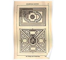 A Handbook Of Ornament With Three Hundred Plates Franz Sales Meyer 1896 0041 Geometrical Elements Oblong Subdivision Poster