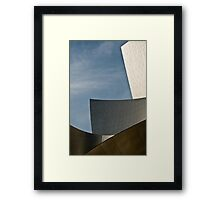Early Morning at the Walt Disney Concert Hall Framed Print
