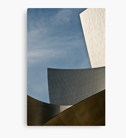 Early Morning at the Walt Disney Concert Hall Canvas Print