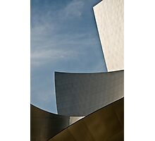 Early Morning at the Walt Disney Concert Hall Photographic Print
