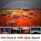Red Sand and Wide Open Spaces by Keiran Lusk