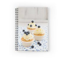 Blueberry cupcakes Spiral Notebook