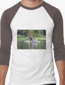 Loose Moose Men's Baseball ¾ T-Shirt