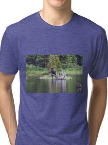 Loose Moose Tri-blend T-Shirt