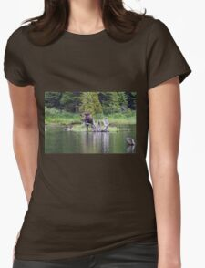 Loose Moose Womens Fitted T-Shirt