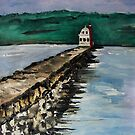 Breakwater  by pinetreeart