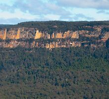 Panoramic View of Echo Point Blue Mountains by Richie Wessen