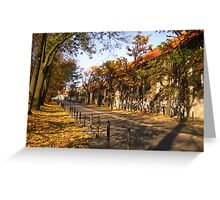 Autumn in Professors Colony #2 Greeting Card