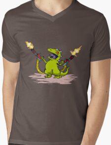Reptar Mens V-Neck T-Shirt