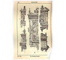 A Handbook Of Ornament With Three Hundred Plates Franz Sales Meyer 1896 0466 Furniture Hanging Cabinet Poster