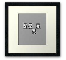 Another perspective for the panda Framed Print