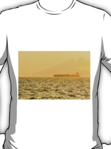 Ship sailing in ocean T-Shirt