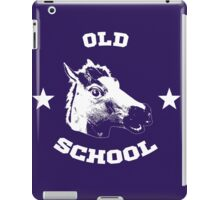 Old school horse iPad Case/Skin