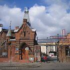 Factory of Vodka in Warsaw Old Praga by Lukasz Godlewski
