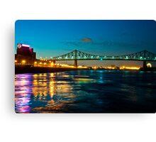 Jacques Cartier Bridge Canvas Print