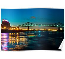 Jacques Cartier Bridge Poster